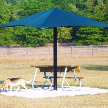 New Dog Park Shelter